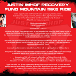 Justin Imhof Recovery Fund Mountain Bike Ride – Update!!
