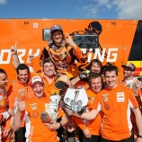 Taddy Crowned World Indoor Enduro Champion