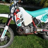 1992 KTM 250exc Vintage Race Bike Project