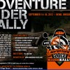 Upcoming 2012 KTM Adventure Rally