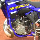 Sherco Injection Two Stroke Action