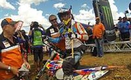 KTM's Wade Young takes victory in Roof of Africa Extreme Enduro