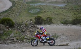 Dakar Rally Stage 2 Results