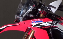 Honda CRF250 Rally Video