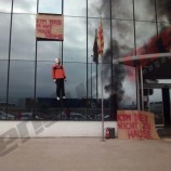 Gas Gas Workers Give KTM Cold Reception