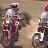 Marquez & Barreda on Africa Twin