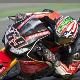 Nicky Haden Superbike Test Debut