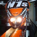 Acerbis headlight is more show than go