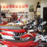 Johnny Cambell Racing shop