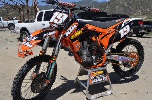 Tommy Searle's 2011 KTM 250sxf