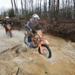 The Trail Tricks suspension handled roots and rocks with ease