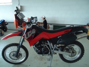 Mongolian Rally KTM 640 Rental Bike