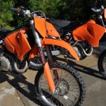 KTM RFS 450xc project bikes
