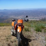 Dual sport riding around San Diego County