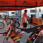 KTM, JR preps David Pearson's bike