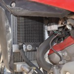 fitted with aftermarket oil cooler