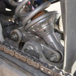 """LH view of new """"top"""" linkage"""