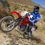 Stock tires will tackle only modest terrain