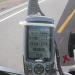 Riding from paracas (Sea Level) to Cusco (8,000 ft) I crossed the Andes, and almost reached 15,000 feet