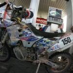 Luis Belaustegui and his KTM 150xc