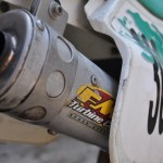 FMF does not have a new silencer, so we repacked this vintage one