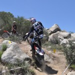 Cody Webb shows how it is done on the enduro bike