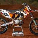 Ryan Dungey's New 450 sx-f KTM