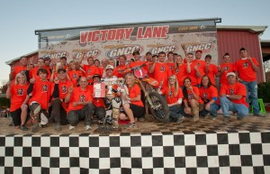 Victory for Mullins and KTM
