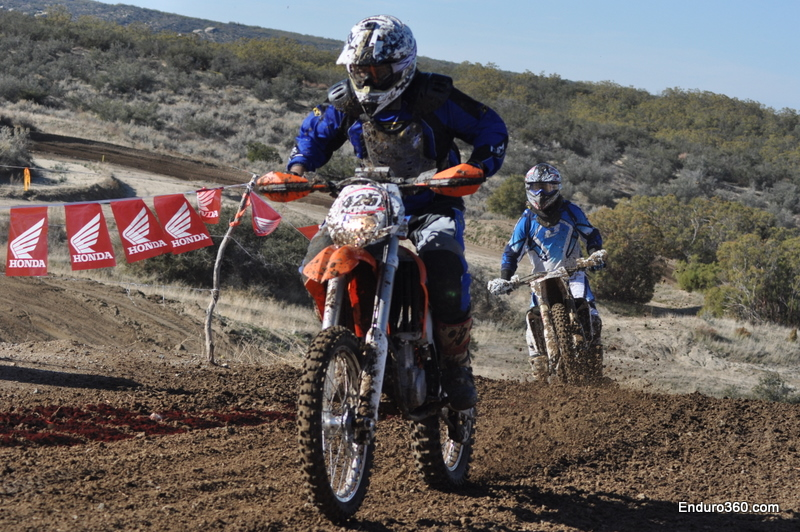 Chilly racing the new 450 KTM
