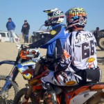 Caselli and Jarvis at start