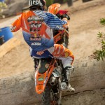 Taddy works his way from the back to garner podium finish