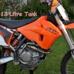 KTM 13 litre tank for XC-W models