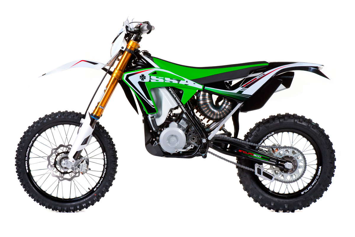 OSSA enduro models to be produced by Gas Gas