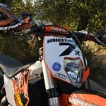 Flex bars, Flak guards, KTM team graphics
