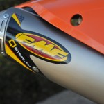 FMF Gnarly pipe with Q silencer
