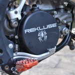 Sturdy Rekluse clutch cover