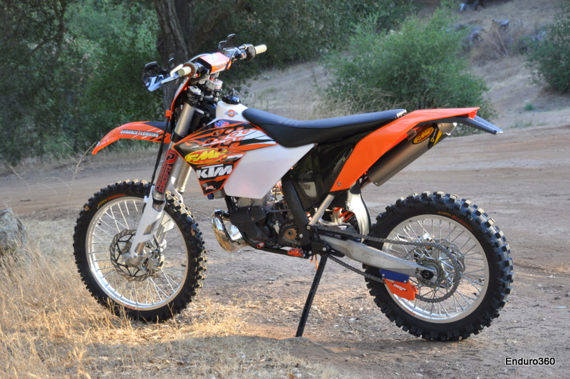 2010 Ktm 250xcw Project Bike Enduro360 Com