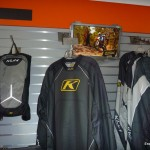 Me(in pic) hanging out in the Klim display at CMS