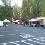 arrive at KTM Rally in Bend Oregon