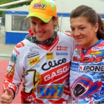 Gas Gas rivals Laia Sanz and Lulu Puy