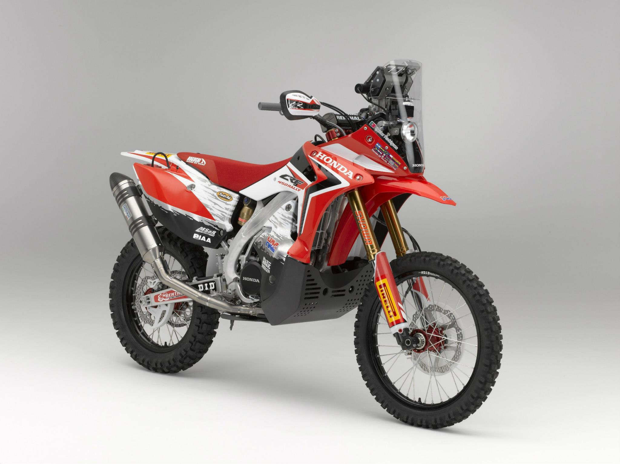 Honda Crf 450 Dakar Model Debut Enduro360 Com