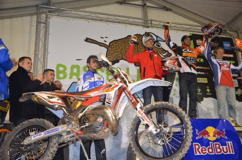Rodrig Thain makes Gas Gas enduro debut