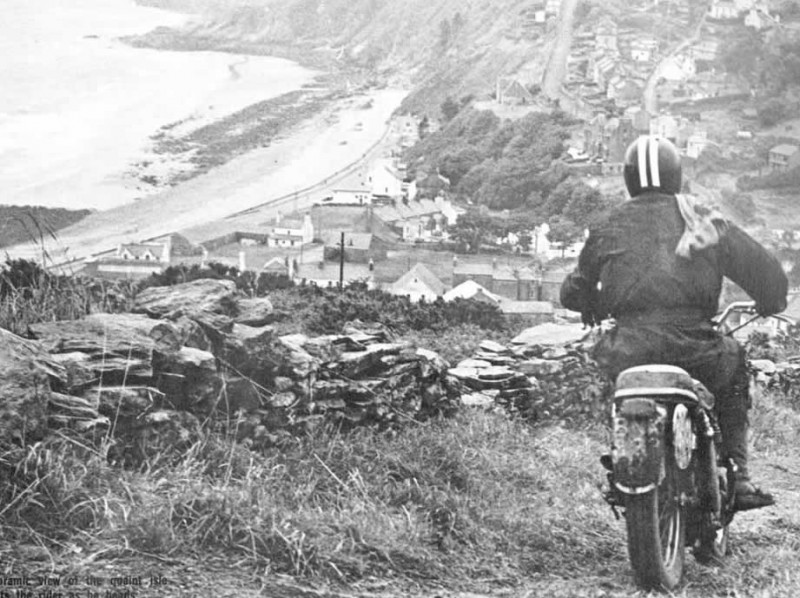 Unnamed American rider at 40th ISDT, Isle of Man 1965