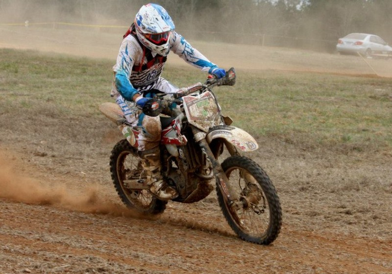 FAR Husky's Andrew Delong gets first National Enduro win