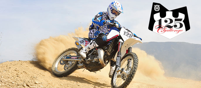 Husqvarna's own Aftersales Coordinator Jamie Lanza will be racing this weekend, and all season, on a 2013 CR125 (in 144cc trim). Photo: Scott Cox/Resmarket, Inc.
