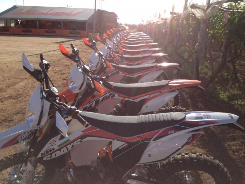 2014 KTM Off Road Line Up