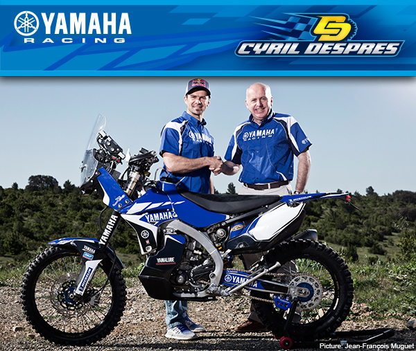 Cyril Despres to Yamaha Motor France