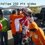 San Felipe 250 KTM Rider Change Video