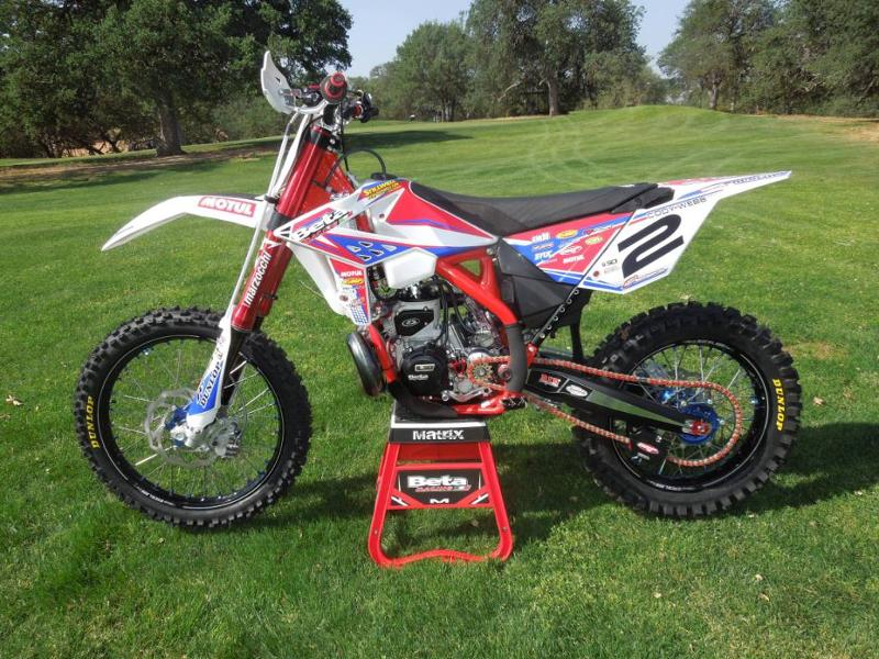 Cody Webb's 2013 Factory Beta 300 RR