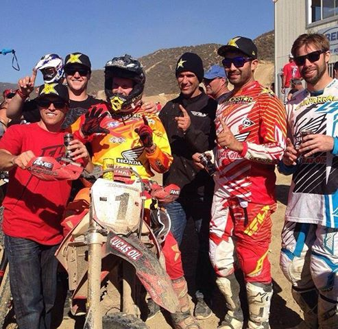 JCR Honda wins 5th consecutive Glen Helen 24 hr
